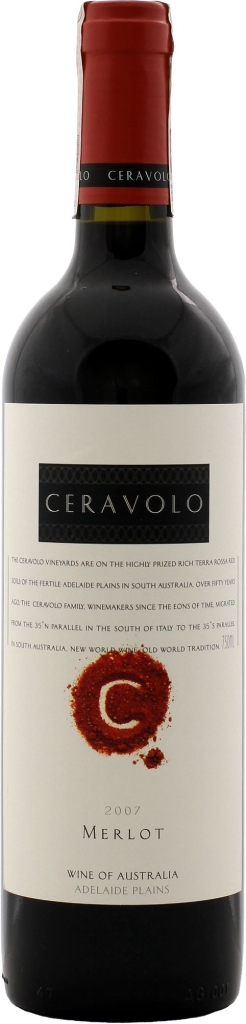 Wino Ceravolo Merlot Adelaide Plains