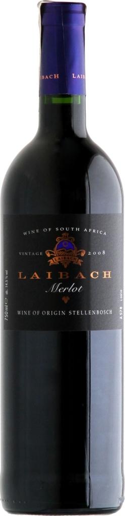 Wino Laibach Merlot Stellenbosch