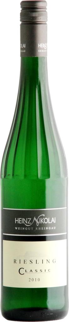 Wino Riesling Classic Feinherb Rheingau