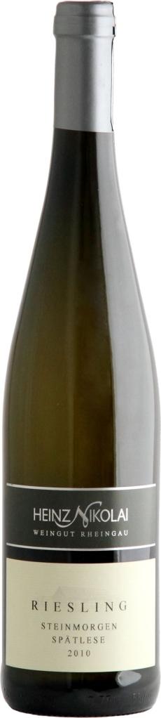 Wino Erbacher Steinmorgen Riesling Spaetlese Rheingau