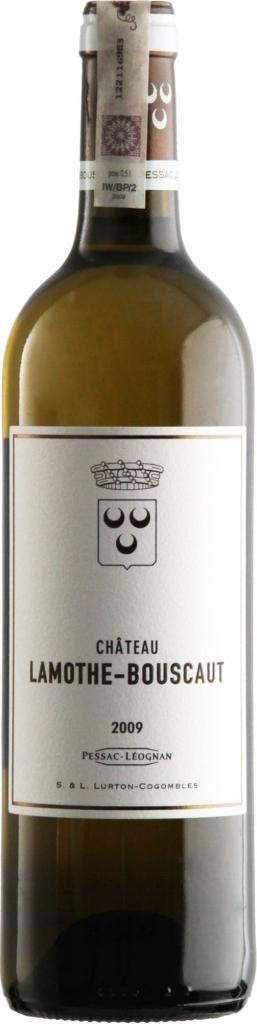 Wino Château Lamothe Bouscaut Blanc AC Pessac-Léognan