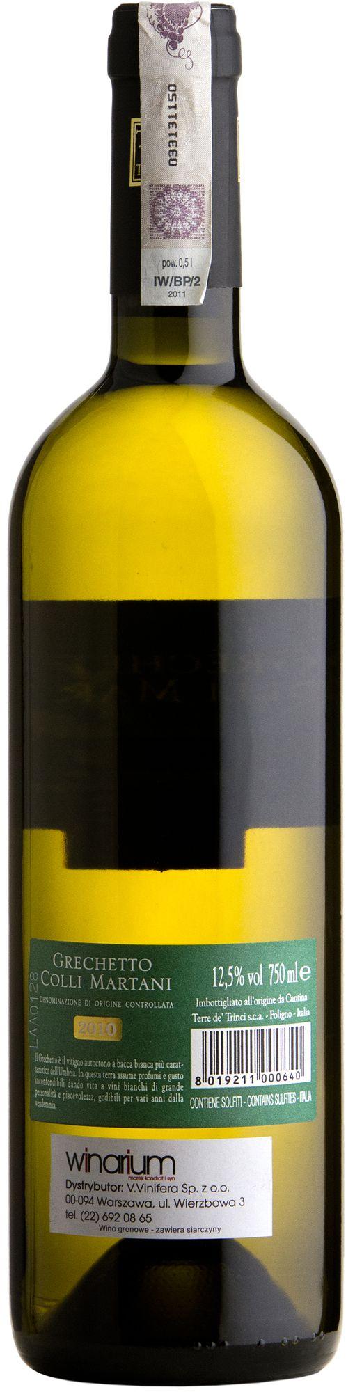 Wino Terre de Trinci Grechetto Colli Martani DOC