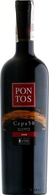 Wino Pontos Cepa 50 Alicante DO