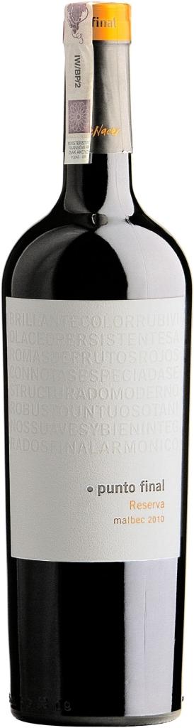 Wino Bodegas Renacer Punto Final Reserva Malbec Mendoza