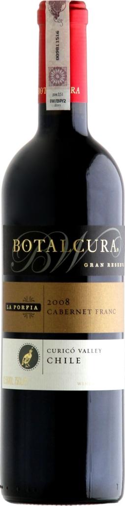 Wino Botalcura La Porfia Cabernet Franc Grand Reserve Curico Valley