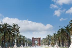 łuk triumfalny w Barcelonie