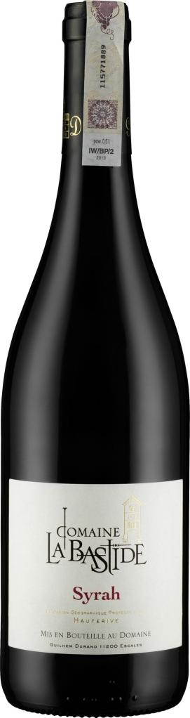 Wino La Bastide Syrah d'Hauterive VdP