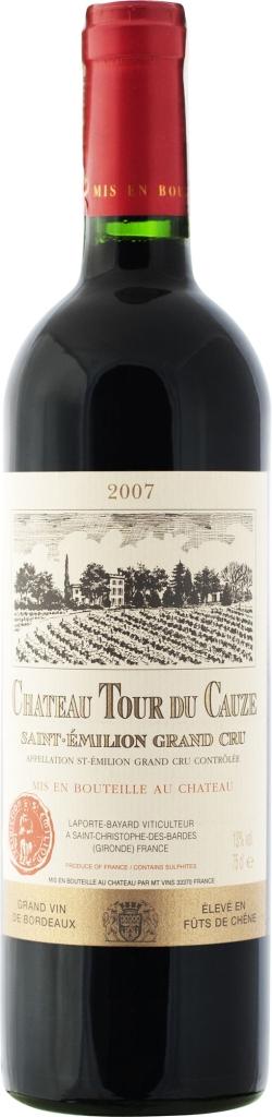 Wino Château Tour du Cauze St-Emilion Grand Cru AC