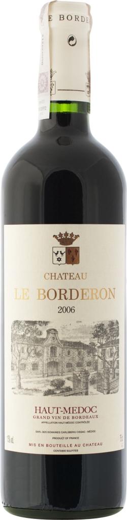 Wino Château Le Borderon Haut Médoc AC