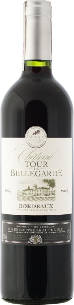 Wino Château Tour de Bellegarde Bordeaux AC