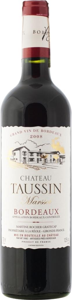 Wino Château Taussin Marssot Bordeaux AC