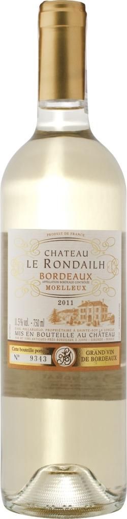 Wino Château Le Rondailh Moelleux Bordeaux AC
