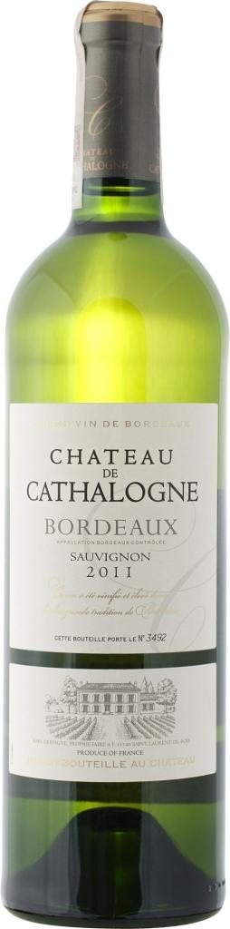 Wino Château de Cathalogne Blanc Bordeaux AC