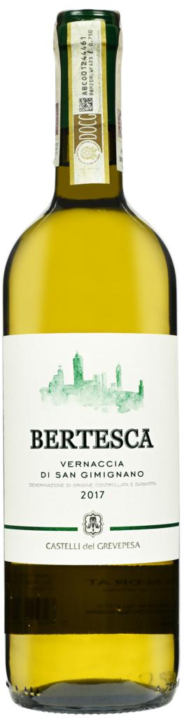 Wino Grevepesa Bertesca Vernaccia di San Gimignano DOCG 2017
