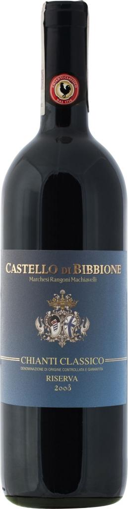 Wino Grevepesa Castello di Bibbione Chianti Classico Riserva DOCG 2015