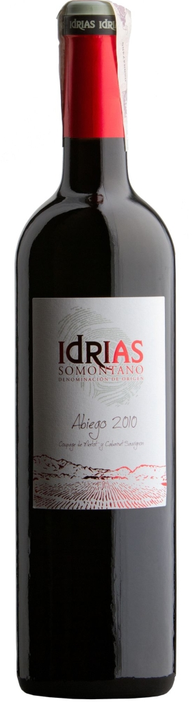 Wino Sierra de Guara Idrias Abiego Somontano DO