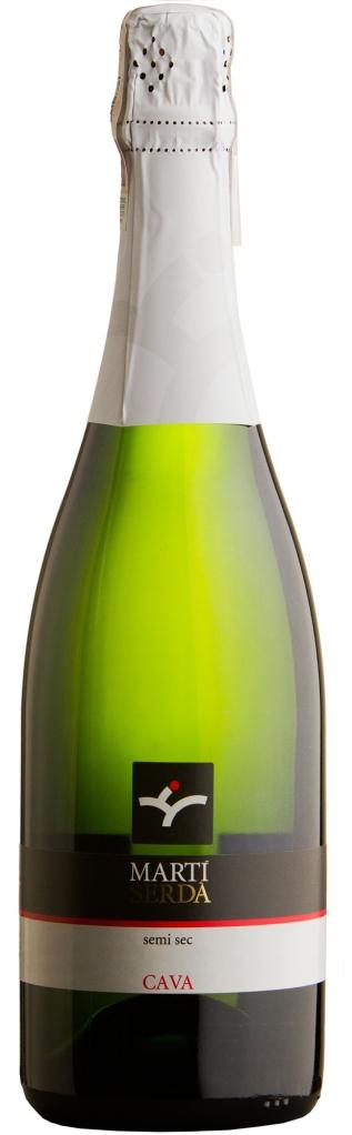 Wino Martí Serdà Cava Semi Seco Penedès