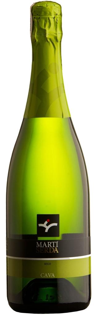 Wino Martí Serdà Cava Seco Penedès