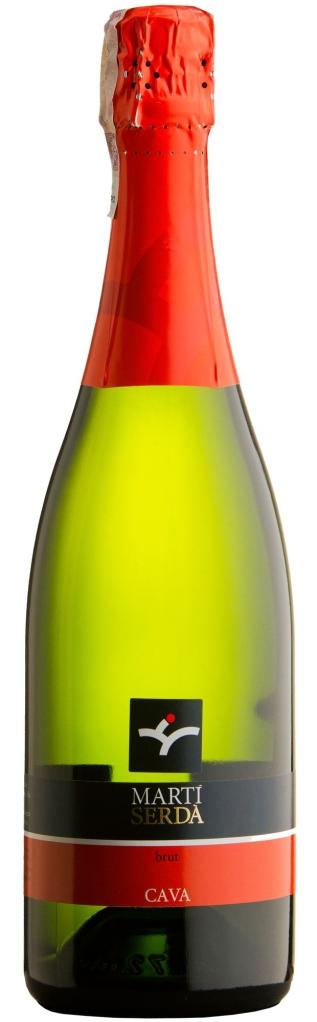 Wino Martí Serdà Cava Brut Penedès