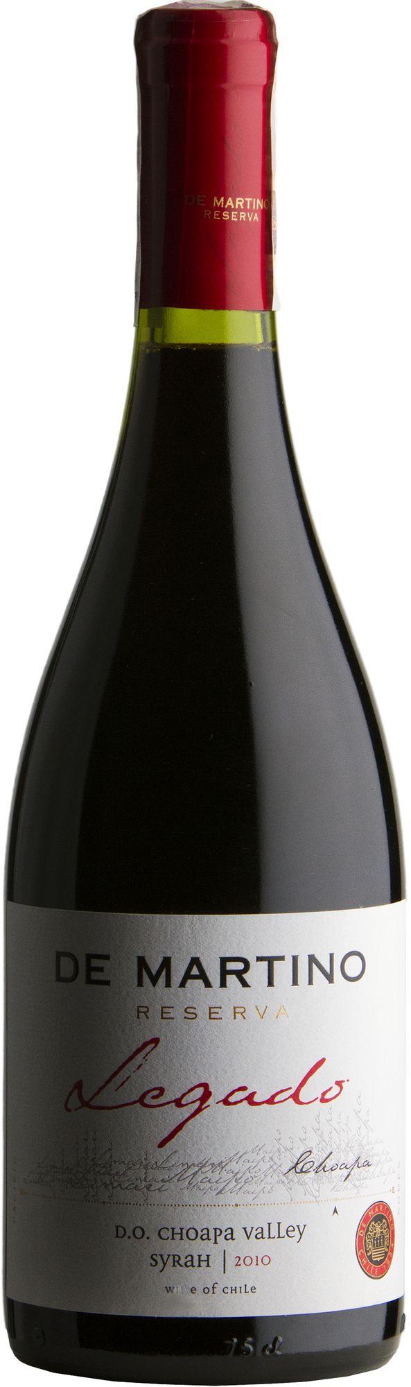 Wino De Martino Legado Syrah Choapa Valley