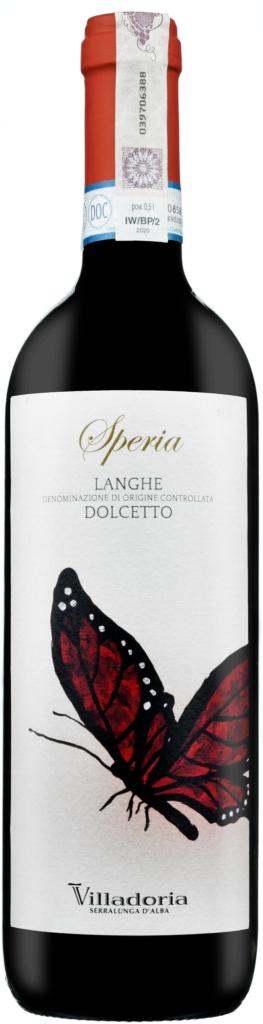 Wino Villadoria Speria Dolcetto Langhe DOC 2019
