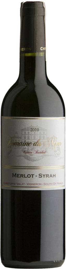 Wino Domaine du Nizon Merlot-Syrah Pays du Gard IGP