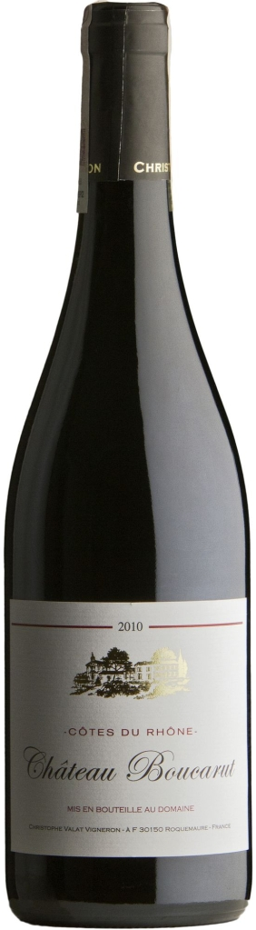 Wino Boucarut Rouge Côtes du Rhône AC