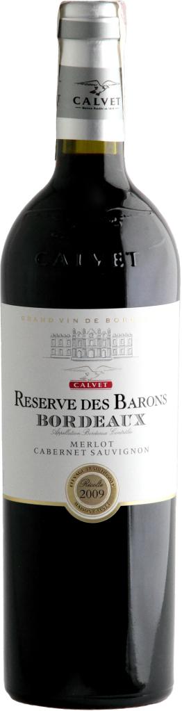 Wino Calvet Reserve des Barons Bordeaux AOP