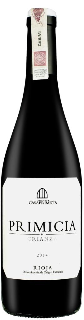 Wino Casa Primicia Crianza Rioja DOCa 2015