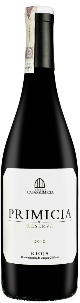 Wino Casa Primicia Reserva Rioja DOCa 2012