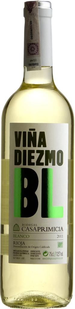 Wino Viña Diezmo Blanco Rioja DOCa