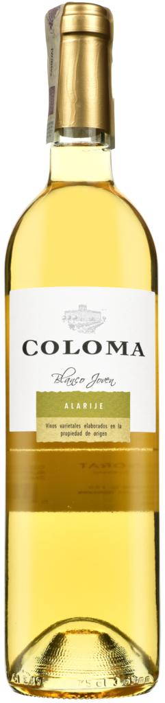 Wino Coloma Alarije Blanco Extremadura VdlT 2018