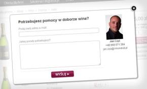 Pomoc w doborze wina