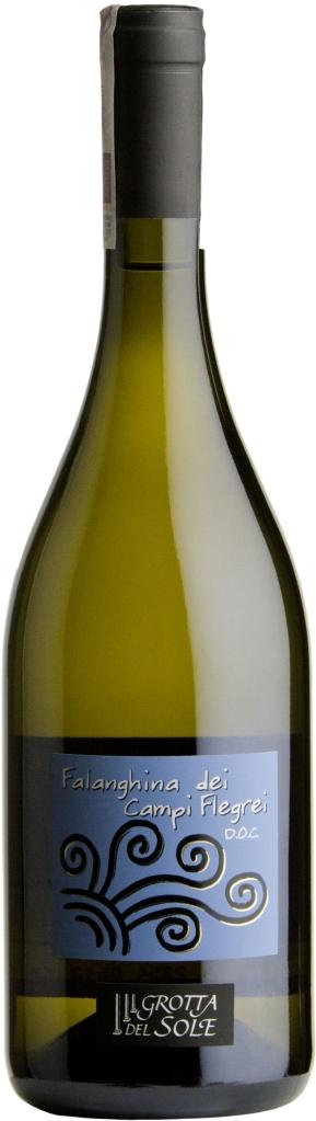 Wino Grotta del Sole Falanghina dei Campi Flegrei Bianco DOC