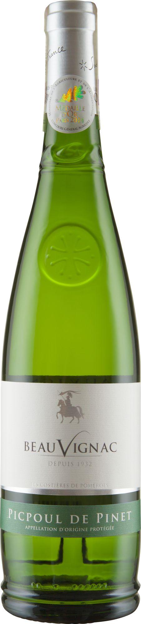 Wino Costieres Pomerols Beauvignac Picpoul de Pinet Coteaux du Languedoc AOP