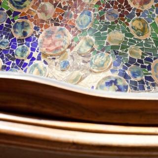 Mozaika Gaudiego w Barcelonie