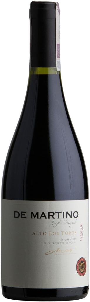 Wino De Martino S.V. Alto Los Toros Syrah