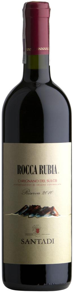 Wino Santadi Rocca Rubia Riserva Carignano del Sulcis DOC 2014