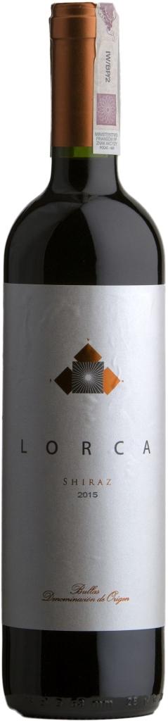 Wino Bodegas del Rosario Lorca Shiraz Bullas DO 2016
