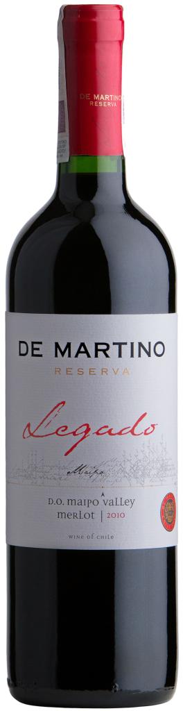 Wino De Martino Legado Merlot Maipo Valley