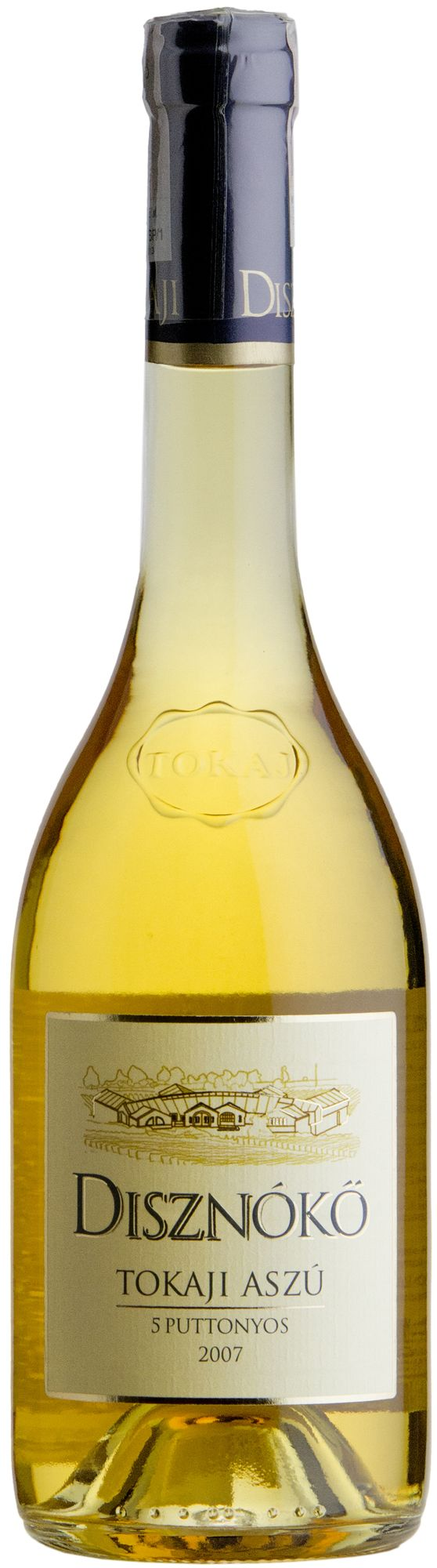 Wino Disznókö Aszú 5 Puttonyos Tokaj 2007