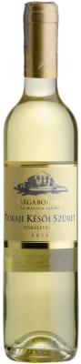 Wino Sarga Borhaz Late Harvest Hárslevelü 2015 500 ml