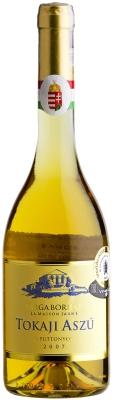 Wino Sarga Borhaz Aszú 5 Puttonyos Tokaj 500 ml