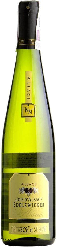 Wino Wunsch & Mann Joie D'Alsace Edelzwicker Alsace AOC