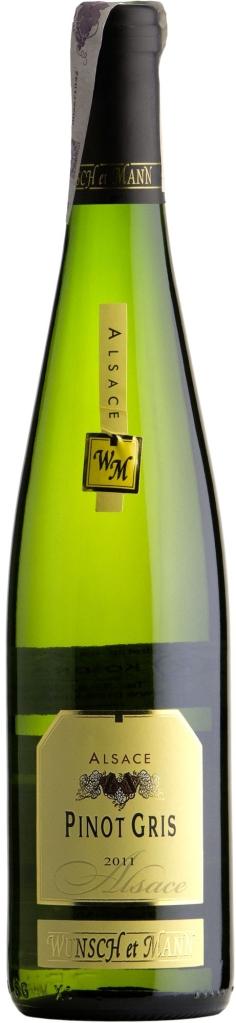 Wino Wunsch & Mann Pinot Gris Alsace AOC
