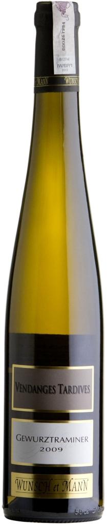 Wino Wunsch & Mann Gewurztraminer Vendanges Tardives Alsace AOC