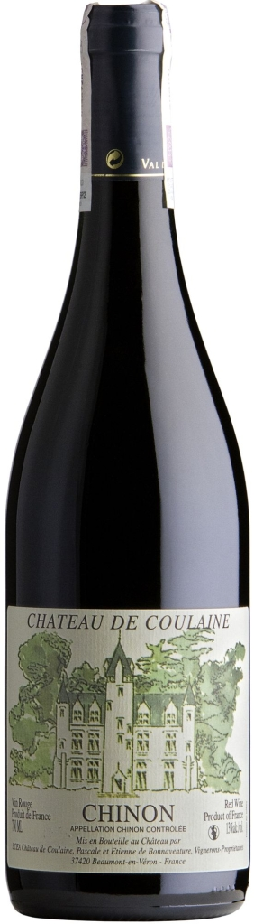 Wino Coulaine Chinon AOC