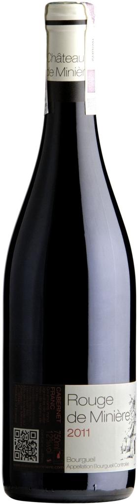 Wino Miniere Bourgueil AOC