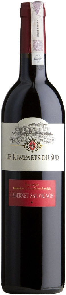 Wino Sommierois Remparts du Sud Cabernet Sauvignon Pays d'Oc IGP