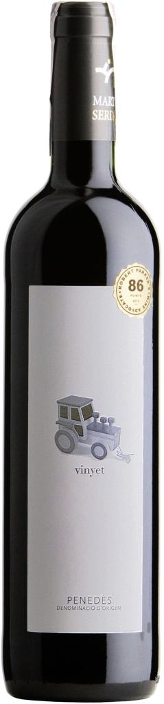 Wino Martí Serdà Vinyet Crianza Penedes DO